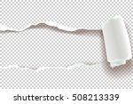 ripped paper  vector art and... | Shutterstock .eps vector #508213339
