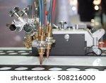 technology of making laser... | Shutterstock . vector #508216000