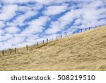 dry grass covered hills in... | Shutterstock . vector #508219510