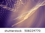 abstract polygonal space low... | Shutterstock . vector #508229770