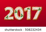 new year 2017 in shape of... | Shutterstock .eps vector #508232434