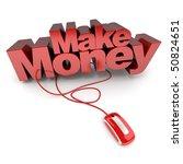 3d rendering of the words make... | Shutterstock . vector #50824651
