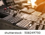 control panel and control... | Shutterstock . vector #508249750