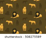 panthera lion wallpaper 2 | Shutterstock .eps vector #508275589