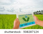 smart agriculture and internet... | Shutterstock . vector #508287124