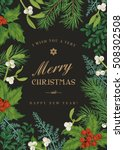 Greeting Christmas Card In...