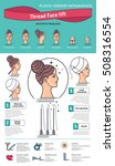 vector illustrated set with... | Shutterstock .eps vector #508316554