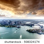 magnificence of sydney harbour... | Shutterstock . vector #508324174