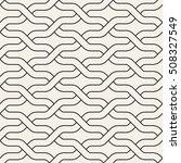 vector seamless pattern. modern ... | Shutterstock .eps vector #508327549