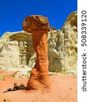 Toadstool Rock Formation  ...