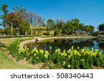 the pond in the royal... | Shutterstock . vector #508340443