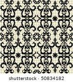 seamless ornate pattern | Shutterstock .eps vector #50834182