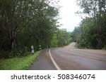 road and forest in pang sida... | Shutterstock . vector #508346074