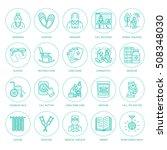 modern vector line icon of... | Shutterstock .eps vector #508348030