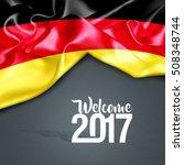 welcome 2017 germany | Shutterstock . vector #508348744