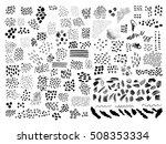 huge set of universal hand... | Shutterstock .eps vector #508353334
