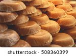 the palm sugar or jaggery in... | Shutterstock . vector #508360399