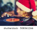 blurred image of christmas.... | Shutterstock . vector #508361266
