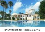 3d rendering villa | Shutterstock . vector #508361749