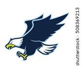 flying eagle mascot | Shutterstock .eps vector #508369213