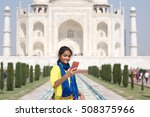 agra  india   october 26  2016  ... | Shutterstock . vector #508375966