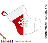 Red Christmas Stocking To Be...