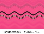 colorful wavy stripes pattern.... | Shutterstock . vector #508388713