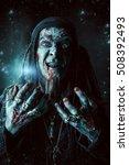 horror novel character.... | Shutterstock . vector #508392493