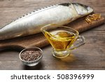 Fish Oil With Flax Grain And...