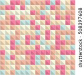 abstract squares background.... | Shutterstock .eps vector #508397608