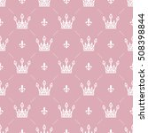 seamless pattern in retro style ... | Shutterstock .eps vector #508398844