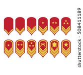 vector illustration epaulets ... | Shutterstock .eps vector #508411189
