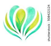 Heart Chakra Symbol Concept ...