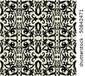 seamless ornate pattern | Shutterstock .eps vector #50842471