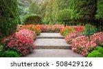 natural garden views | Shutterstock . vector #508429126