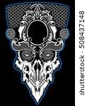skull devil | Shutterstock .eps vector #508437148