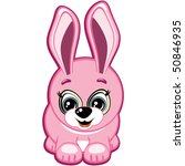 little bunny | Shutterstock . vector #50846935