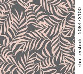 seamless pattern with hand... | Shutterstock .eps vector #508473100