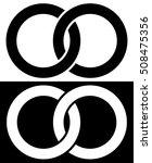 interlocking circles  rings... | Shutterstock .eps vector #508475356