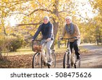 senior couple outdoors | Shutterstock . vector #508475626