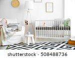 interior of modern baby room   Shutterstock . vector #508488736