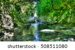 panorama of green canyon of... | Shutterstock . vector #508511080