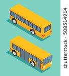 public transport bus.... | Shutterstock .eps vector #508514914