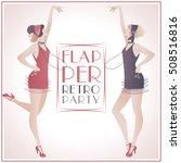 Flapper Girls  Two Beautiful...