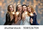 party  holidays  nightlife and... | Shutterstock . vector #508526704