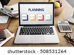 start up business strategy... | Shutterstock . vector #508531264
