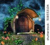 Fairytale Tree Trunk Cottage...