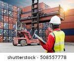 foreman control loading... | Shutterstock . vector #508557778