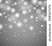 vector falling snow effect... | Shutterstock .eps vector #508567474