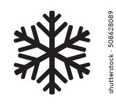 snowflake icon illustration... | Shutterstock .eps vector #508628089